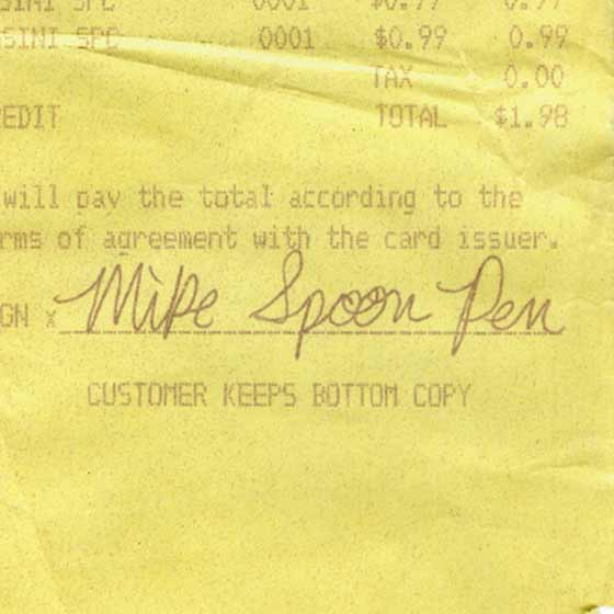 Mike Spoon Pen