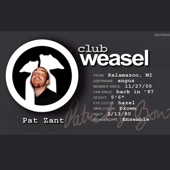 Club Weasel ID Cards thumbnail